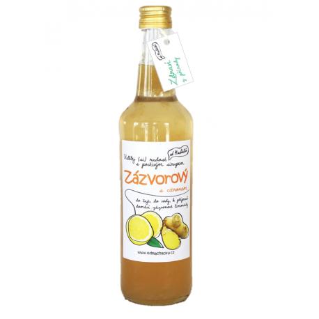 Domácí sirup - Zázvorový s citronem