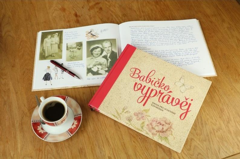Kniha vzpomínek Babičko, vyprávěj