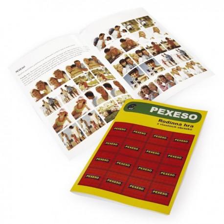 Pexeso - 36 hracích kartiček, originální hra jako dárek pro děti s digi fotkami
