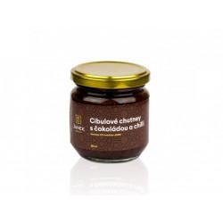 Cibulové chutney s čokoládou a chilli