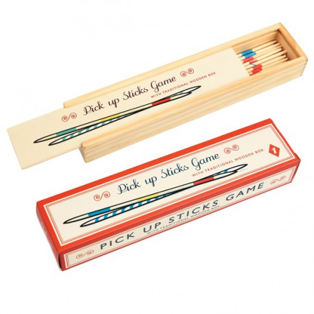MIkado v dřevěné krabičce
