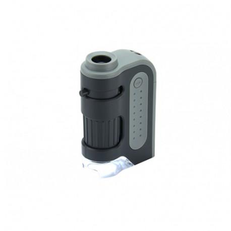 Kapesní mikroskop (60 - 120x zvětšení)