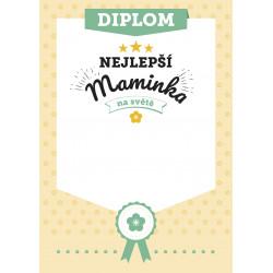 Diplom Nejlepší maminka na světě