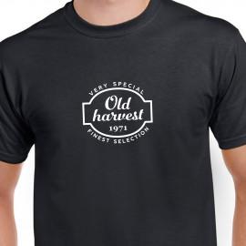 Narozeninové tričko Old Harvest 1971