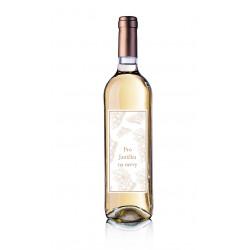 Dárkové víno Chardonnay s originální etiketou
