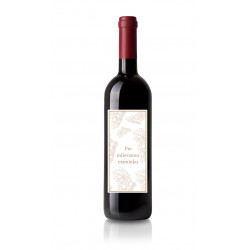 Dárkové víno Merlot s originální etiketou
