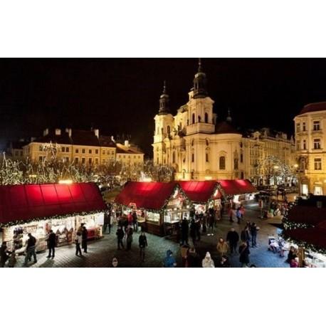 PRAHA PRO SENIORY - Vánoce v Praze (4 noci se snídaní, program - procházka, vánoční výstava, 2x divadlo/koncert)