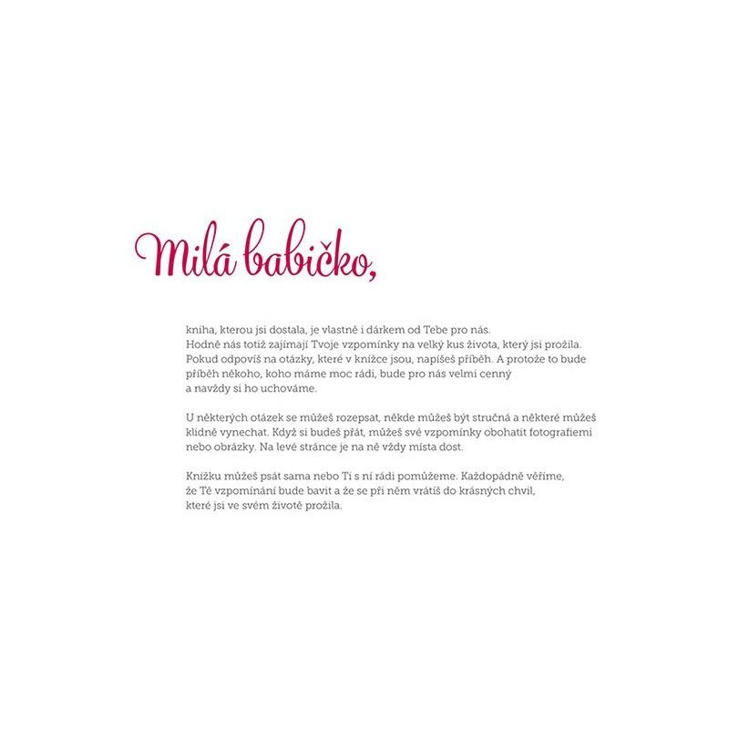 básničky k narozeninám pro babičku Babičko, vyprávěj | dárek pro babičku | Babičkářství.cz básničky k narozeninám pro babičku