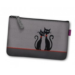 Kosmetická kočičí eko taška