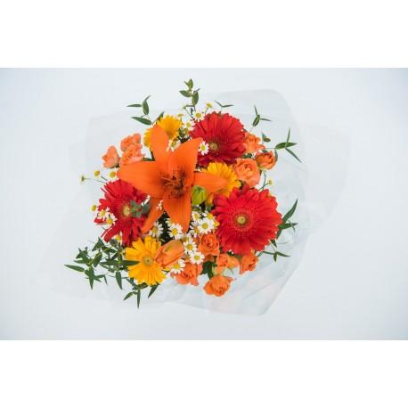 Barevná květina pro potěšení - s doručením