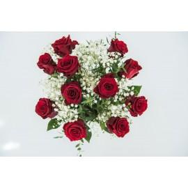 Velká kytice překrásných růží - s doručením
