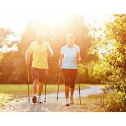 Nordic Walking a Aqua aerobic pro seniory (6 nocí, PoloP, vycházky, bazén, cvičení)