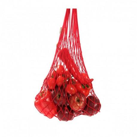 SÍŤOVKA -nepřekonatelná taška, barva tašky červená