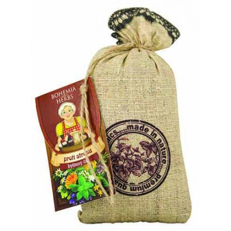 Bylinný sypaný čaj na různé neduhy, Účel čaje proti stresu