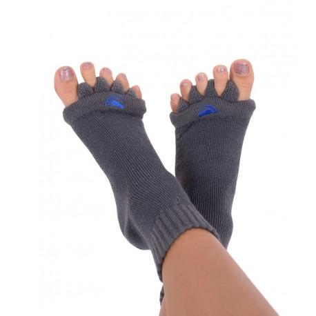 Happy Feet HF08 Adjustační ponožky Charcoal, velikost ponožek L (vel. 43+)