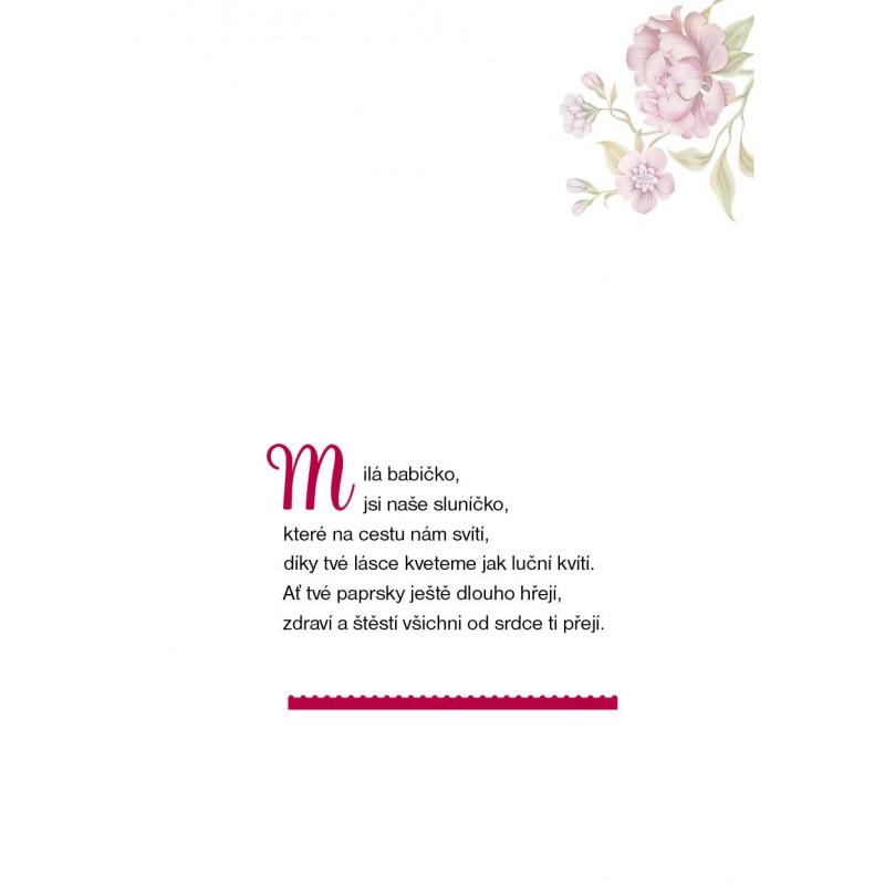 přání k svátku babičce Dárkové přáníčko pro babičku   Babičkářství přání k svátku babičce