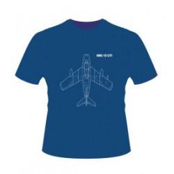 Originální tričko se siluetou legendární stíhačky MIG-15
