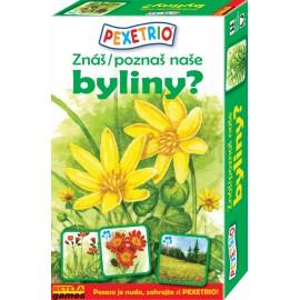Pexetrio - Znáš naše byliny?