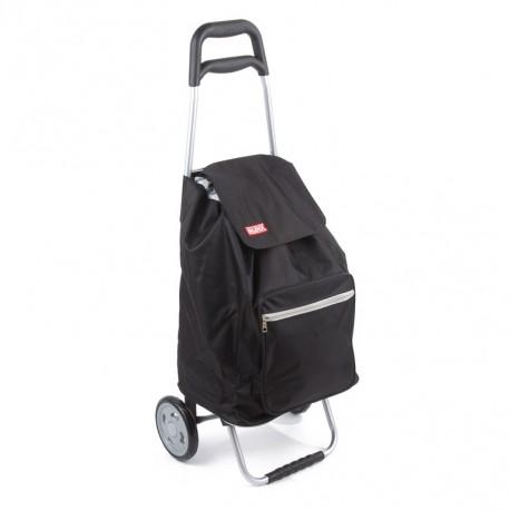 Praktická nákupní taška na kolečkách Cargo - černá