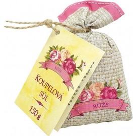 Koupelová sůl z šípků a květy růže