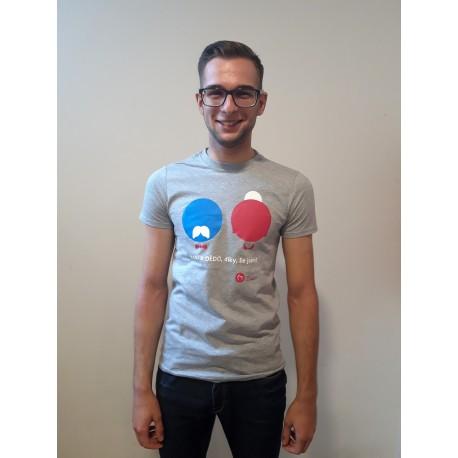 Dámské tričko KRÁSA POMOCI - Babi a dědo, díky, že jsem
