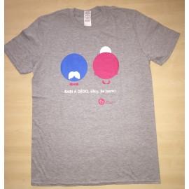Pánské tričko KRÁSA POMOCI - Babi a dědo, díky, že jsem