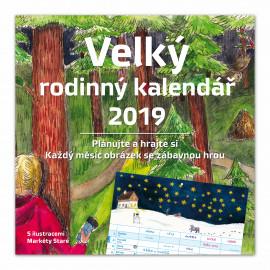 Velký rodinný kalendář 2019