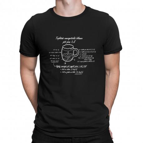 Originální tričko Energetická bilance piva 0796f7c141