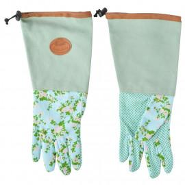 Zahradní rukavice s růžičkami