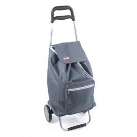 Praktická nákupní taška na kolečkách Cargo - šedá