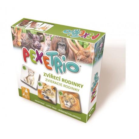 Pexetrio - Zvířecí rodinky