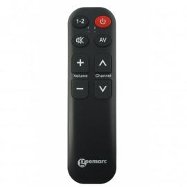 Televizní ovladač pro seniory - jednoduché ovládání