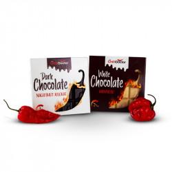 Hořká čokoláda s chilli